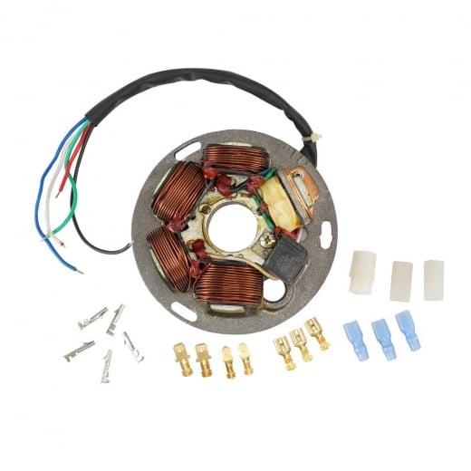 120W VESPA PX Stator Plate Assembly 12v 125/150/200/LML 12Volt