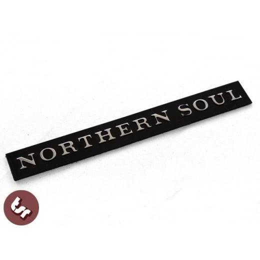 Billet CNC Horncast Badge/Emblem Northern Soul fits VESPA PX/LML/T5/Piaggio