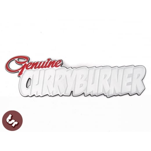 Copy of GENUINE CURRY BURNER! VESPA LML/LAMBRETTA SIL Billet CNC Legshield/Panel/Badge