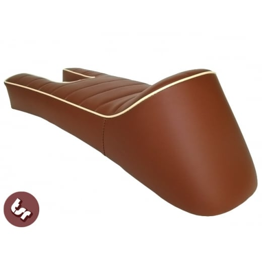 LAMBRETTA Ancillotti-Snetterton Seat Tan Brown/Cream