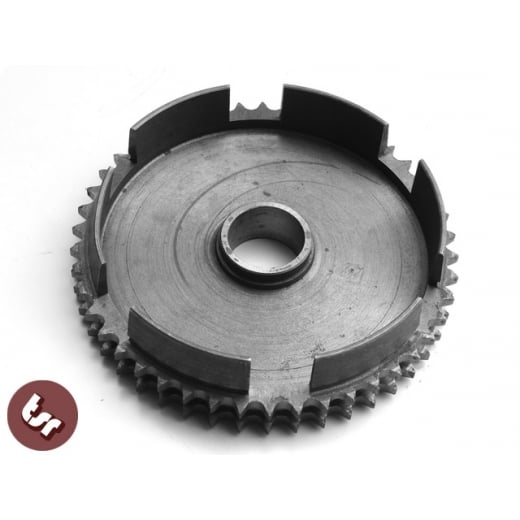 LAMBRETTA Clutch Sprocket Cog 46 Teeth/Tooth SX/GP/LI/TV Genuine SIL Crownwheel