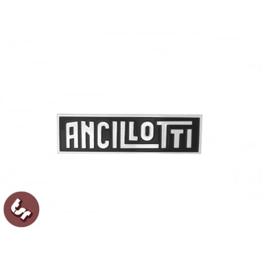 LAMBRETTA GP Billet CNC Legshield Badge/Emblem ANCILLOTTI Custom