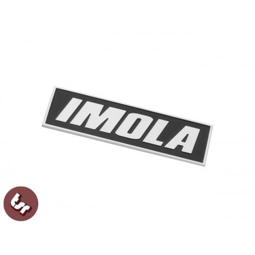 LAMBRETTA GP Billet CNC Legshield Badge/Emblem IMOLA Tuned