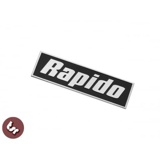 LAMBRETTA GP Billet CNC Legshield Badge/Emblem RAPIDO