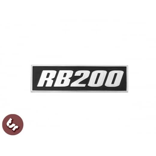 LAMBRETTA GP Billet CNC Legshield Badge/Emblem RB20/RB 200/AF Tuned