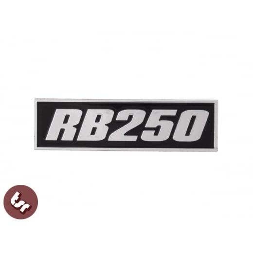 LAMBRETTA GP Billet CNC Legshield Badge/Emblem RB25/RB 250/AF Tuned