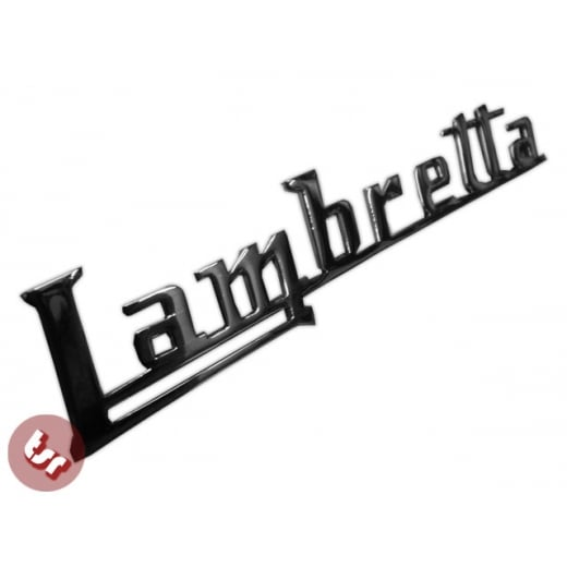 LAMBRETTA Legshield Badge Chrome Lambro FDC