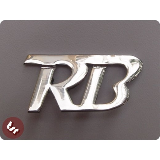 LAMBRETTA Legshield/Panel Badge 'RB' RB22/RB225/20