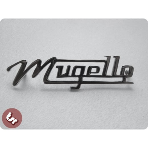 LAMBRETTA Legshield/Side Panel Mugello Chrome Badge