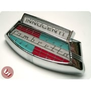 LAMBRETTA LIS/TV/SX200 Horncast Badge Innocenti Chrome