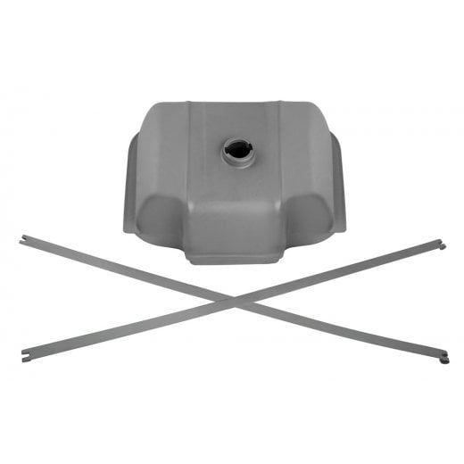 TSR Lambretta Long Range Tank - Mild Steel - Mid