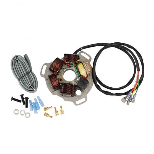 LAMBRETTA MAX POWER 120W 12v Stator Plate Assembly Electronic Ignition  LI/SX/GP