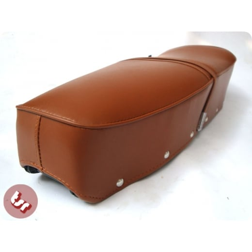 LAMBRETTA Quality Bench Dual Seat Brown S2/S3/GP/SX/LI