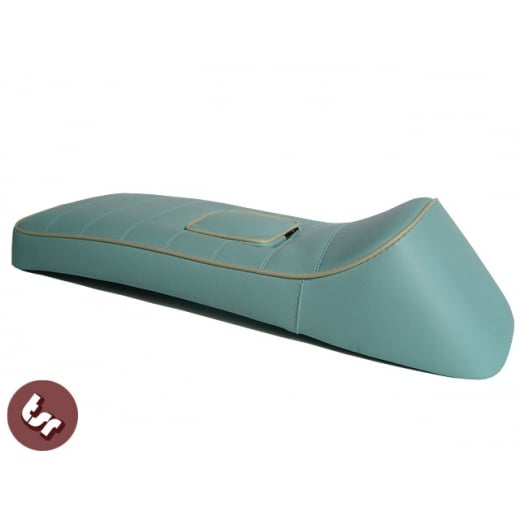 LAMBRETTA QUALITY TSR X-Race Seat Baby Blue/Cream SX/GP