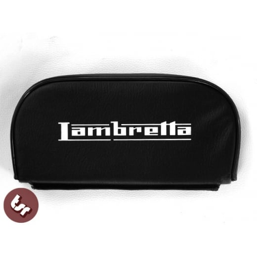 LAMBRETTA Rear Rack Back Rest Pad Slipover/Cuppini Fit