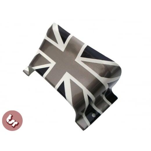 LAMBRETTA S3/GP Bridge-Union Jack Pro Paint Black/White