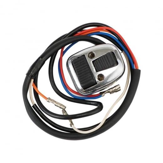 LAMBRETTA S3 Handle Bar Switch Unit Light/Horn - Black