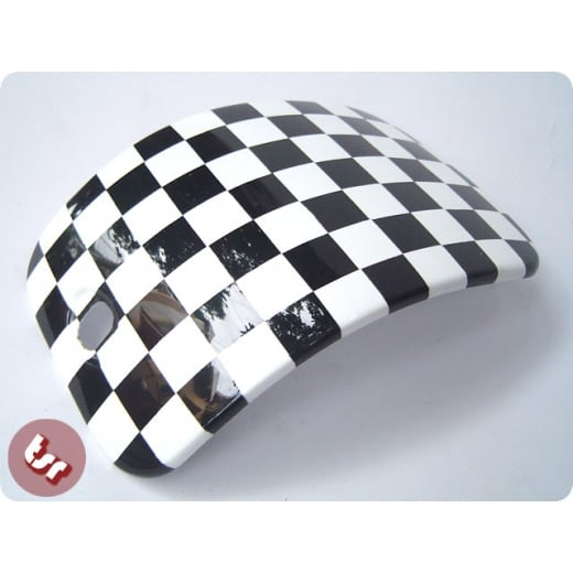 LAMBRETTA S3 Tool Box Door Ska Checkered Custom Paint