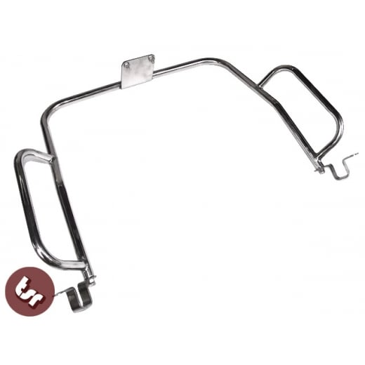 LAMBRETTA Series 2/3/GP Stainless Steel Rear Frame Crashbar/Crash Bar LI/SX/TV