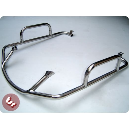 LAMBRETTA Series 3 Stainless Steel Chrome Finish Legshield Crashbar LI/SX/TV/LIS