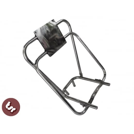 LAMBRETTA Stainless Steel Flip Flop Rear Rack & Back Rest Quality Series 3/GP