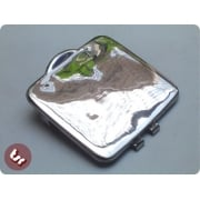 LAMBRETTA Stainless Steel Fuel Tank Flap/Lid/Cover