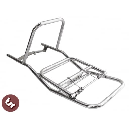 LAMBRETTA Stainless Steel Madrid Rear Rack Luggage Carrier Series 3 LI/GP/TV/SX