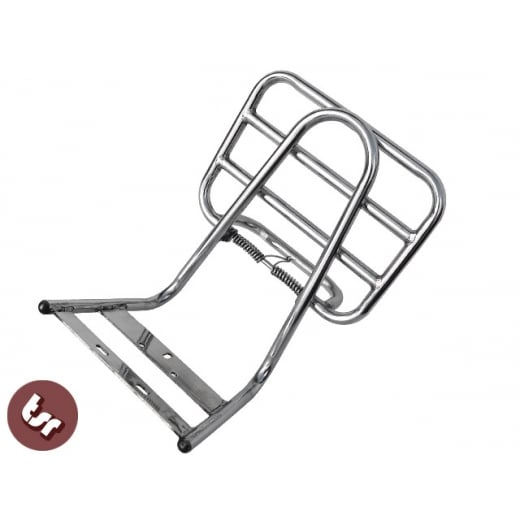 LAMBRETTA Stainless Steel Rear Rack Luggage Carrier Series 2/3/GP LI/TV/SX/LIS