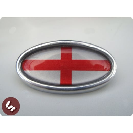 LAMBRETTA TSR Alloy Horncast Badge GP England St George
