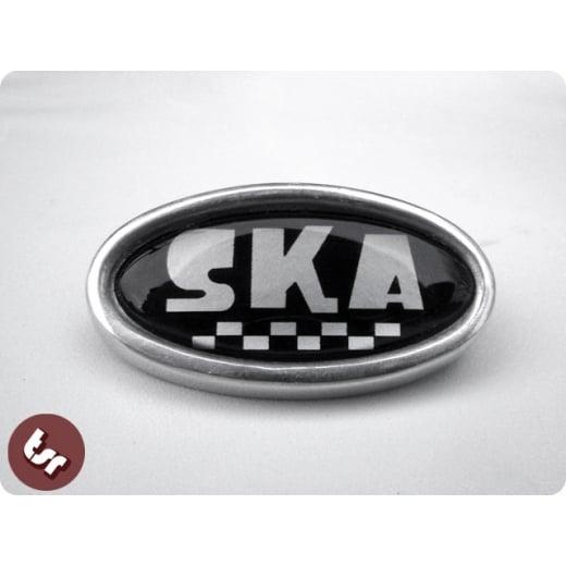 LAMBRETTA TSR Alloy Horncast Badge GP Ska 2 Tone