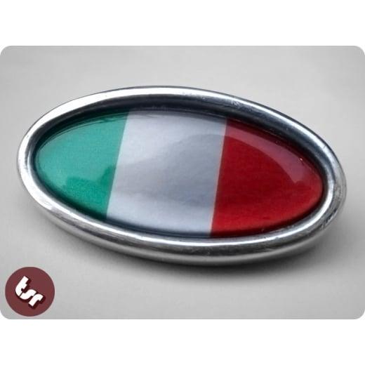 LAMBRETTA TSR Ally Horncast Badge GP Italy Italian Flag