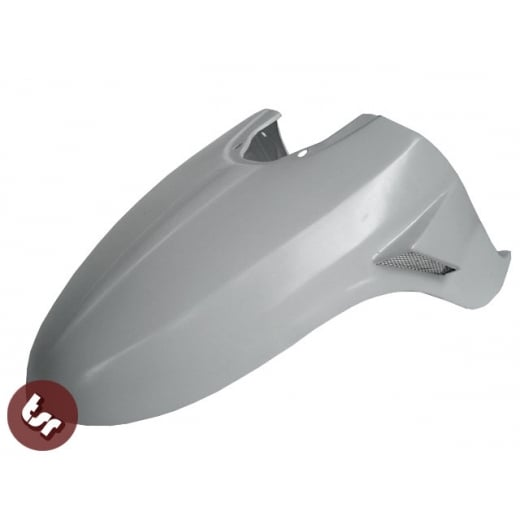 LAMBRETTA TSR GP Front Mudguard Twin Scoop Custom Race