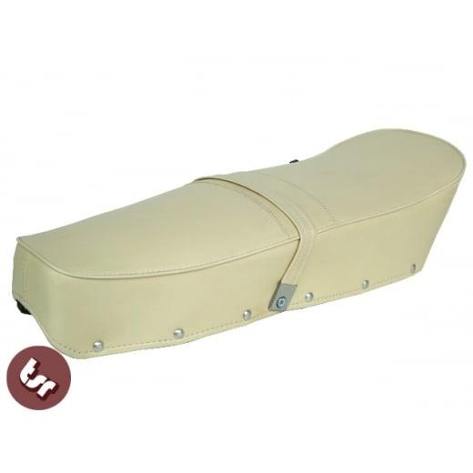 LAMBRETTA TSR Quality Dual Bench Seat Cream S2/S3/SX/GP