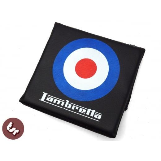 LAMBRETTA TSR Rear Flip Flop Rack Back Rest Pad MOD Target