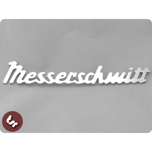 Messerschmitt Script KR200/KR175 CNC Billet Metal Car Emblem/Badge/Hood Ornament