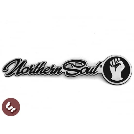 Northern Soul Billet CNC Legshield/Panel/Badge/Emblem fits Vespa/Lambretta/LML