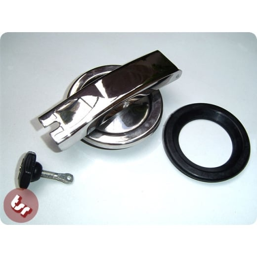 VESPA Stainless Petrol/Fuel Cap Set with Pin & Seal