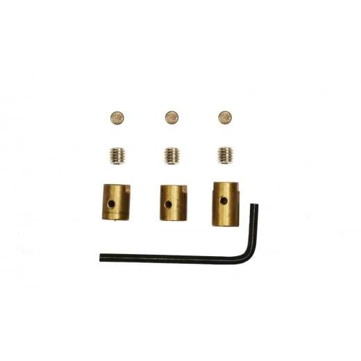 LAMBRETTA Brass Cable Trunnions with Allen Key LI/SX/TV/GP