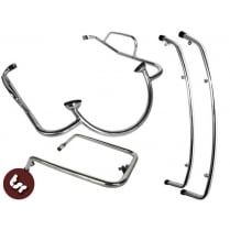 VESPA PX/LML/T5 Legshield/Panel/Mudguard Crash Bar Kit