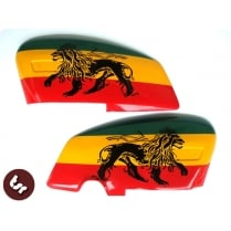 LAMBRETTA GP Jah Rasta Fari Lion Side Panels DL/S3/RB