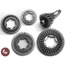 LAMBRETTA GP 200 1st/2nd/3rd/4th Gear Kit Cogs+Cluster Christmas Tree