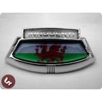 LAMBRETTA LIS/TV/SX TSR Horncast Badge Wales Welsh Flag