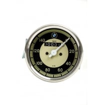 BMW SMITHS Replica 0-140 KPH Speedometer Black & Cream Face