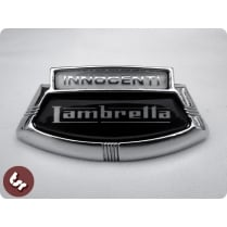 LAMBRETTA LIS/TV/SX TSR Custom Horncast Badge