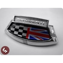 LAMBRETTA LIS/TV/SX TSR Horncast Badge Union Jack/Race