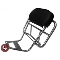 LAMBRETTA Stainless Steel Italian Style Rear Rack/Carrier Back Rest LI/TV/SX/GP