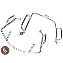 LAMBRETTA Stainless Steel Legshield+Rear Crashbar Series 3 LI/TV/SX/LIS