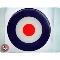 Scooter Sticker/Decal for VESPA/LAMBRETTA -3D MOD Target 10cm