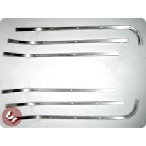 VESPA Floor/Footboard Runner Strips Standard Alloy X6 Sprint/VBB/Rally