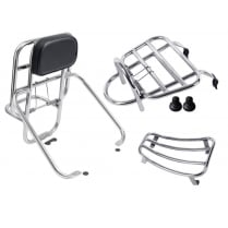 Vespa GTS/GT Super Touring Rack Combo Front+Rear+Floor 125/250/300